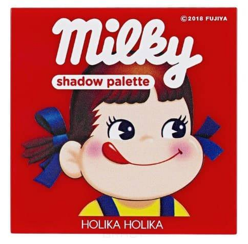 Купить Holika Holika, Peko Jjang Piece Matching 4 Colors Shadow Palette Палетка теней, 6 г (2 вида) Холика Холика, 6 г, 01, клубничная карамель