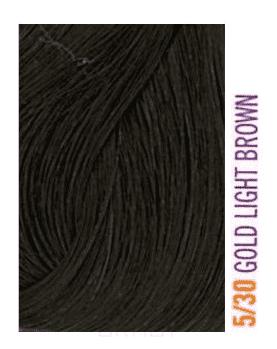 Lakme, Крем-краска для волос тонирующая Gloss, 60 мл (54 оттенка) 5/30 Светло-каштановый золотистый nirvel краситель для волос мужской 30 мл 4 оттенка 30 мл 30 мл ct 7 light chestnut светло каштановый