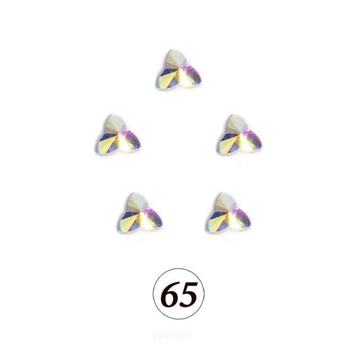 Купить Planet Nails, Цветные фигурные стразы в ассортименте (76 видов), 5 шт/уп Планет Нейлс №65