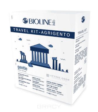 Bioline, Дорожный набор для лица Агридженто TRAVEL KIT AGRIGENTO - GENTLE/LIFTING CODE, 99/30/3х2,5 мл набор bioline jato travel gift кit pure набор крем 30 мл гель 99 мл лосьон 99 мл