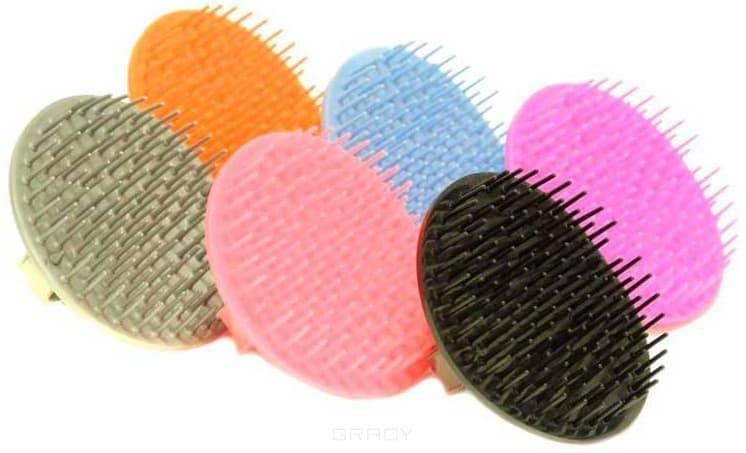 Hairway, Массажер для головы цветной 33001 (6 цветов) Массажер для головы цветной 33001 (6 цветов)Расчески и щетки<br><br>
