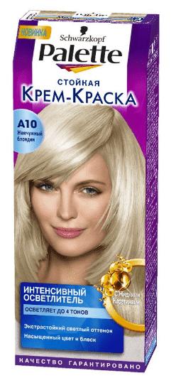 Schwarzkopf Professional, Краска для волос Palette Icc, 50 мл (40 оттенков) A10 Жемчужный блондин schwarzkopf professional краска для волос palette icc 50 мл 40 оттенков c9 пепельный блондин