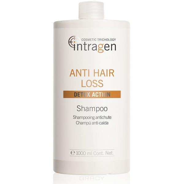 Шампунь против выпадения волос Intragen Anti-Hair Loss Shampoo, 1 л пластырь против выпадения волос intragen anti hair loss treatment patch 30 шт