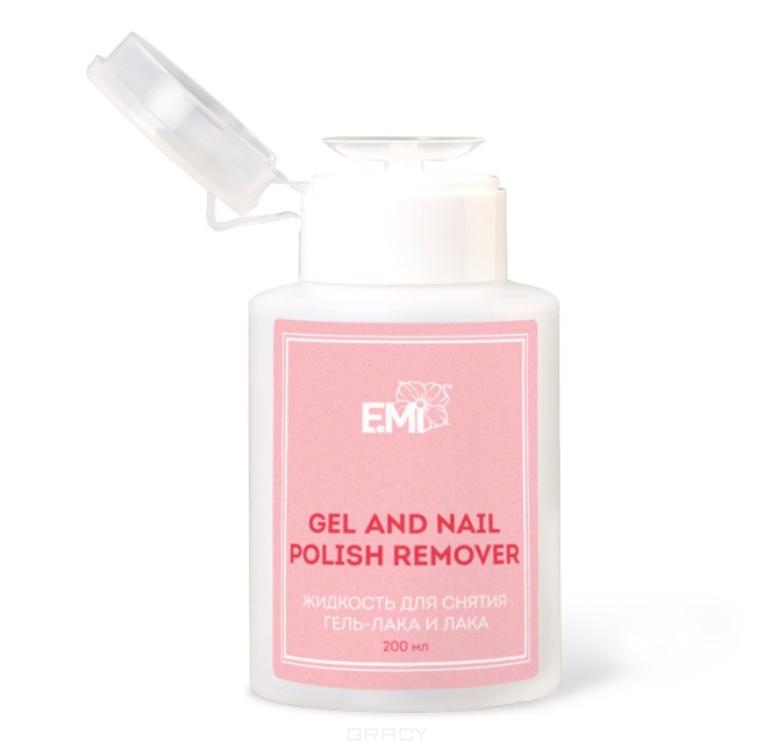 Купить E.Mi, Жидкость для снятия гель-лака и лака Gel and Nail Polish Remover, 200 мл