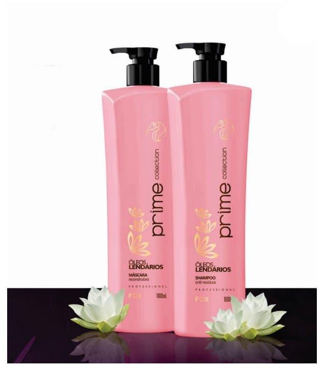 Fox Professional, Набор Выпрямление-Уход Prime Collection Коллекция масел для сильноповрежденных волос, 100/100 млКератиновое выпрямление волос<br><br>