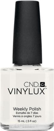 CND (Creative Nail Design), Винилюкс Профессиональный недельный лак VINYLUX™ Weekly Polish (54 оттенка) 15 мл # 108 (Cream Puff) 10 pcs creative u shape spill proof nail polish stickers tool manicure nail sticker finger cover tool