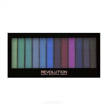 Купить MakeUp Revolution, Палетка теней для век Redemption Palette, 12 оттенков (4 варианта), Essential Day to Night
