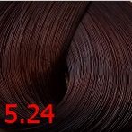Купить Kaaral, Стойкая крем-краска для волос ААА Hair Cream Colourant, 100 мл (93 оттенка) 5.24 светлый фиолетово-медный каштан