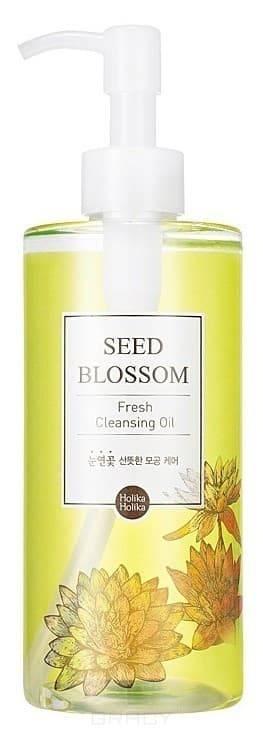 Holika Holika, Масло гидрофильное Освежащее Seed Blossom Fresh Cleansing Oil, 300 млСнтие макижа<br><br>