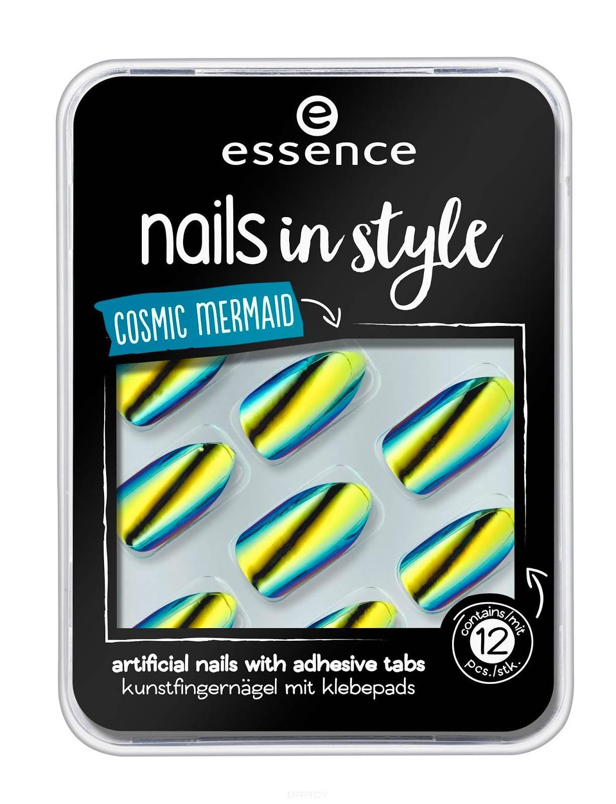Essence, Накладные ногти на клейкой основе Nails In Style (6 вариантов) №07, желтый хамелеон