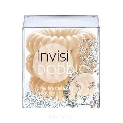Invisibobble, Резинка для волос бежевого цвета Original Queen of the Jungle (3 шт.)Зажимы, шпильки, резинки<br><br>
