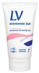 LV, Увлажняющий крем для лица 24 ч, 75 мл lv увлажняющий крем для лица 24 ч 75 мл