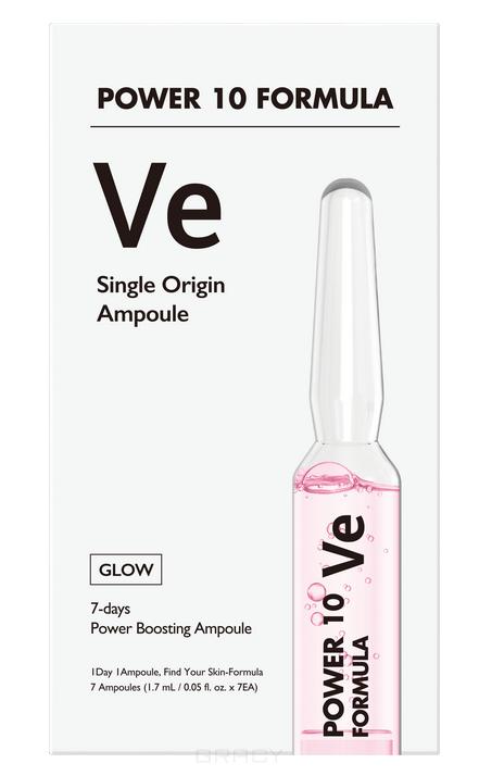 Купить It's Skin, Набор питательных лифтинг-сывороток для лица Power10 Formula VE Single Origin Ampoule, 1, 7мл*7шт