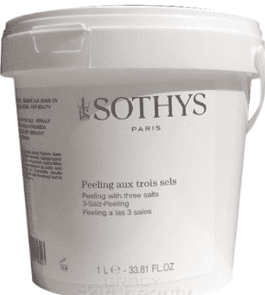 Sothys, Скраб 3 соли Peeling With 3 Salts, 1 л new style lcd digital portable facial ultrasonic face care massager acne removal ion skin scubber peeling device with gift box