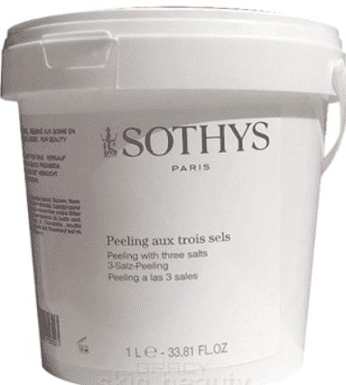 Sothys, Скраб 3 соли Peeling With 3 Salts, 1 л цена