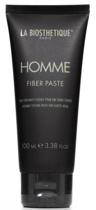 Купить La Biosthetique, Моделирующая паста-тянучка для волос с атласным блеском Homme Fiber Paste, 100 мл