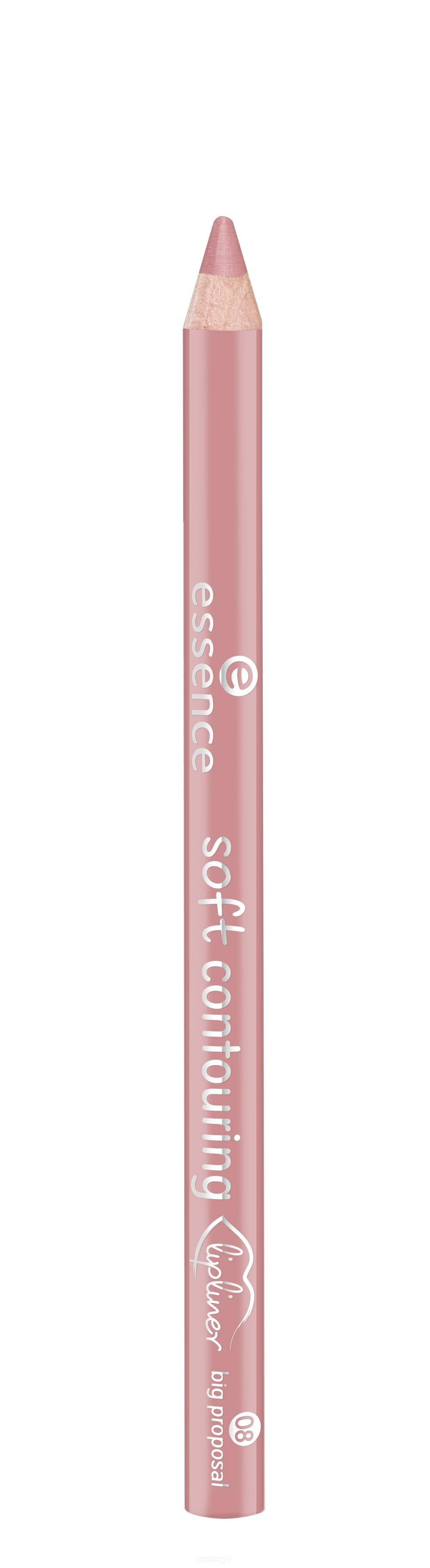 Купить Essence, Контур для губ Soft Contouring Lipliner (11 тонов) №08, кремово-розовый