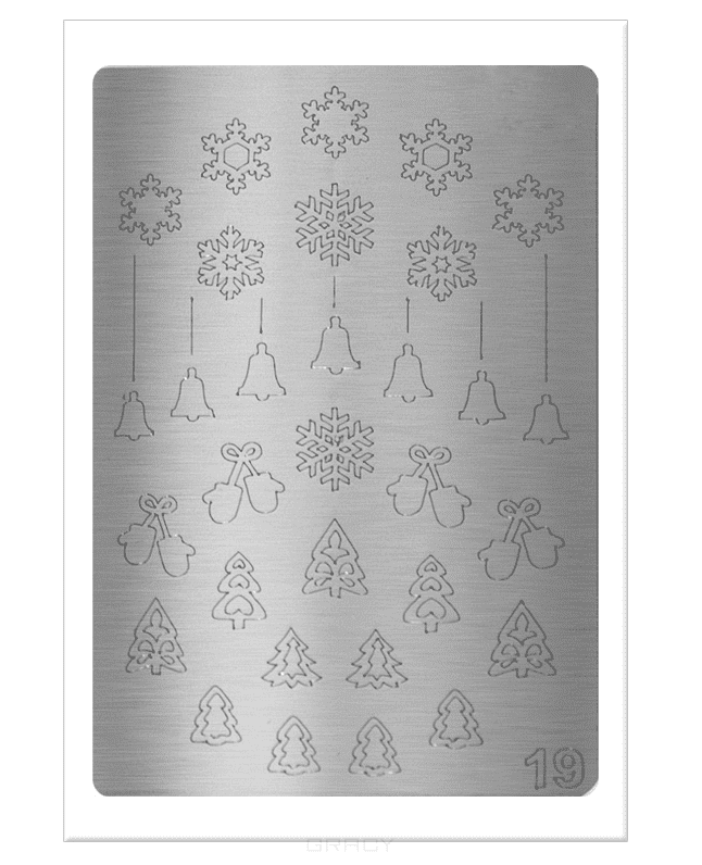 Planet Nails, Металлизированные наклейки-трафареты (38 рисунков) Металлизированные наклейки-трафаретыНейл-арт и дизайн ногтей<br><br>