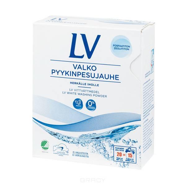 Купить LV, Концентрированный стиральный порошок для белого белья, 750 гр