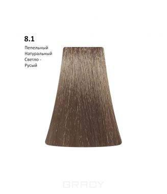 Купить BB One, Перманентная крем-краска Picasso Colour Range без аммиака (76 оттенков) 8.1Ash Natural Light Blond/Пепельный Натуральный Светло-Русый