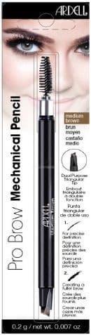 Ardell, Влагостойкий механический карандаш для бровей Ardell Mechanical Pencil (3 цвета), Темно-коричневый (Dark brown)Окрашивание бровей и ресниц<br><br>