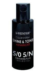 La Biosthetique, Краска тоник для волос Shine&Tone Advanced, 150 мл (12 оттенков) 5/0 la biosthetique краска тоник для волос shine
