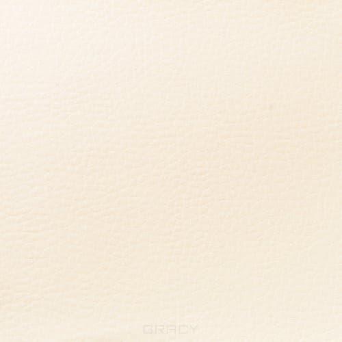 Купить Имидж Мастер, Пуф для салона красоты со спинкой Диалог Модуль №1 (48 цветов) Слоновая кость