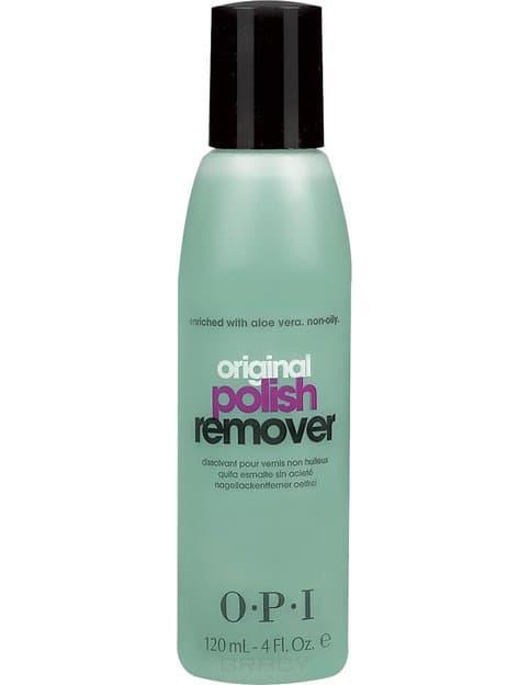 OPI, Жидкость для снятия лака с экстрактом алоэ для натуральных ногтей Polish Remover, 110 мл