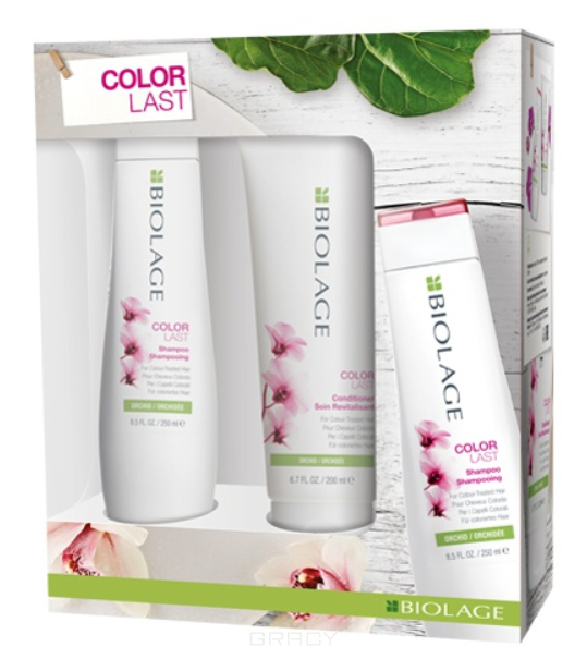 Купить Matrix, Весенний набор для окрашенных волос 2020 шампунь + кондиционер Colorlast, 250/200 мл