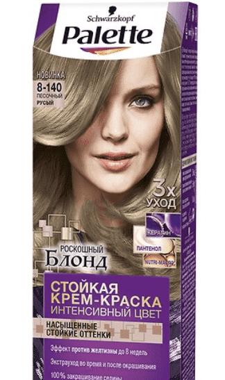 Купить Schwarzkopf Professional, Краска для волос Palette Icc, 50 мл (40 оттенков) 8-140 Песочный русый