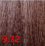 Купить Kaaral, Крем-краска для волос Baco Permament Haircolor, 100 мл (106 оттенков) 9.32 очень светлый золотисто-фиолетовый блондин 100 мл