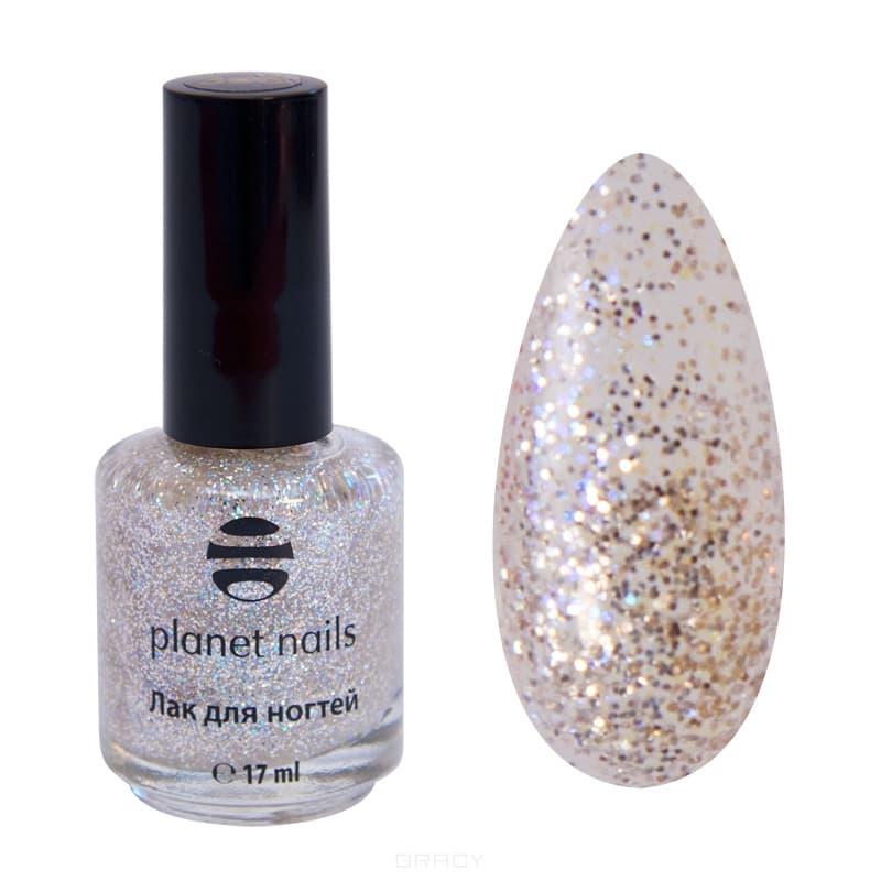 Planet Nails, Глиттер лак для ногтей, 17 мл (21 оттенок) 331 planet nails глиттер лак для ногтей 17 мл 21 оттенок 738 17 мл