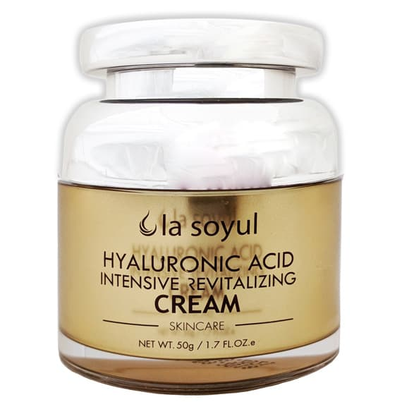 La Soyul, Hyaluronic Acid Intensive Revitalizing Cream Крем для лица с гиалуроновой кислотой, омолаживающий, 50 гр bioaqua bqy3955 hyaluronic acid moisturizing cream 50g