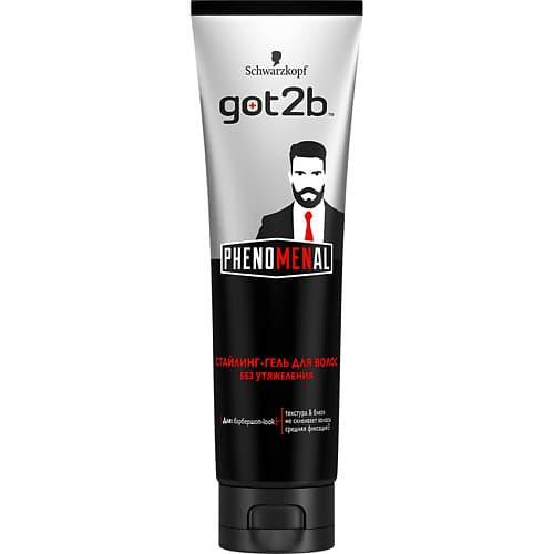 Schwarzkopf Professional, Мужской стайлинг-гель для укладки волос PhenoMENal, 150 мл гель для укладки волос got2b phenomenal 150 мл 2258854