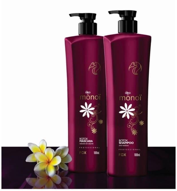 Купить Fox Professional, Oleo De Monoi Набор ботокс для волос Фокс, 500/500 мл