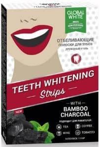 Полоски для отбеливания зубов Древесный уголь 7 дней Teeth Whitening, 7 шт полоски для отбеливания зубов древесный уголь 7 дней teeth whitening 7 шт