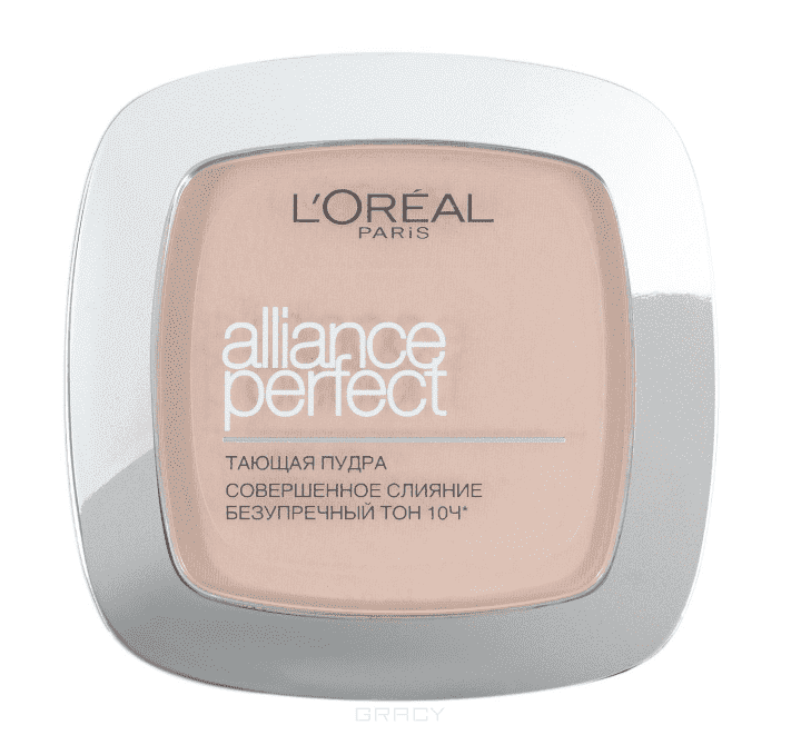L'Oreal, Пудра Alliance Perfect Совершенное слияние, 9 гр (6 оттенков) R2 ванильно-розовый пудра alliance perfect совершенное слияние d5 бежевозолотистый loreal
