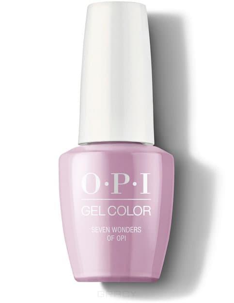 OPI, Гель-лак GelColor, 15 мл (199 цветов) Seven Wonders of OPI / Peru opi гель лак для ногтей gel color peru collection 2018 15 мл 12 цветов seven wonders of opi