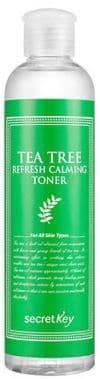 Tea Tree Refresh Calming Toner Освежающий тоник для лица с экстрактом чайного дерева, 248 мл sexus tea tree oil 200 мл массажное масло с ароматом чайного дерева
