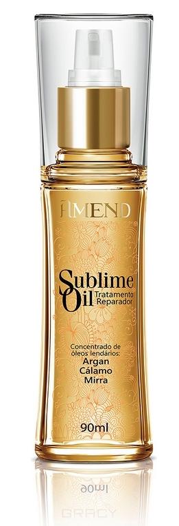 Купить Amend, Аргановое масло для волос с антиоксидантами и витаминами Sublime Oil, 90 мл