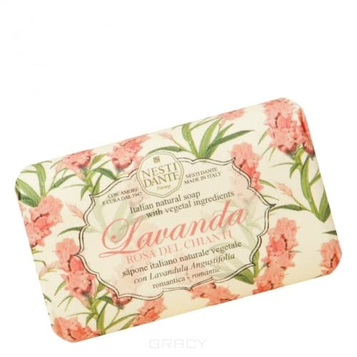 Nesti Dante, Мыло Лаванда Розовое Кьянти, 150 грLavanda - линия Лаванда<br><br>