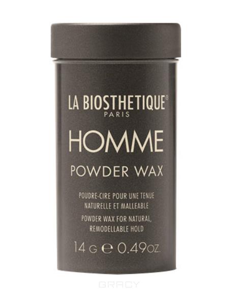 Купить La Biosthetique, Пудра-воск для придания объема и подвижной фиксации с атласным блеском Homme Powder Wax, 14 г