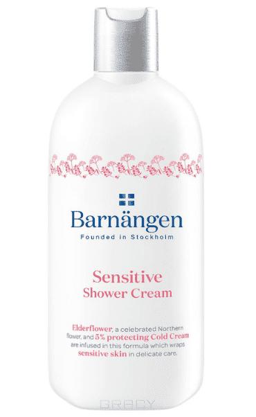 купить Barnangen, Крем-гель для душа для чувствительной кожи, 400 мл