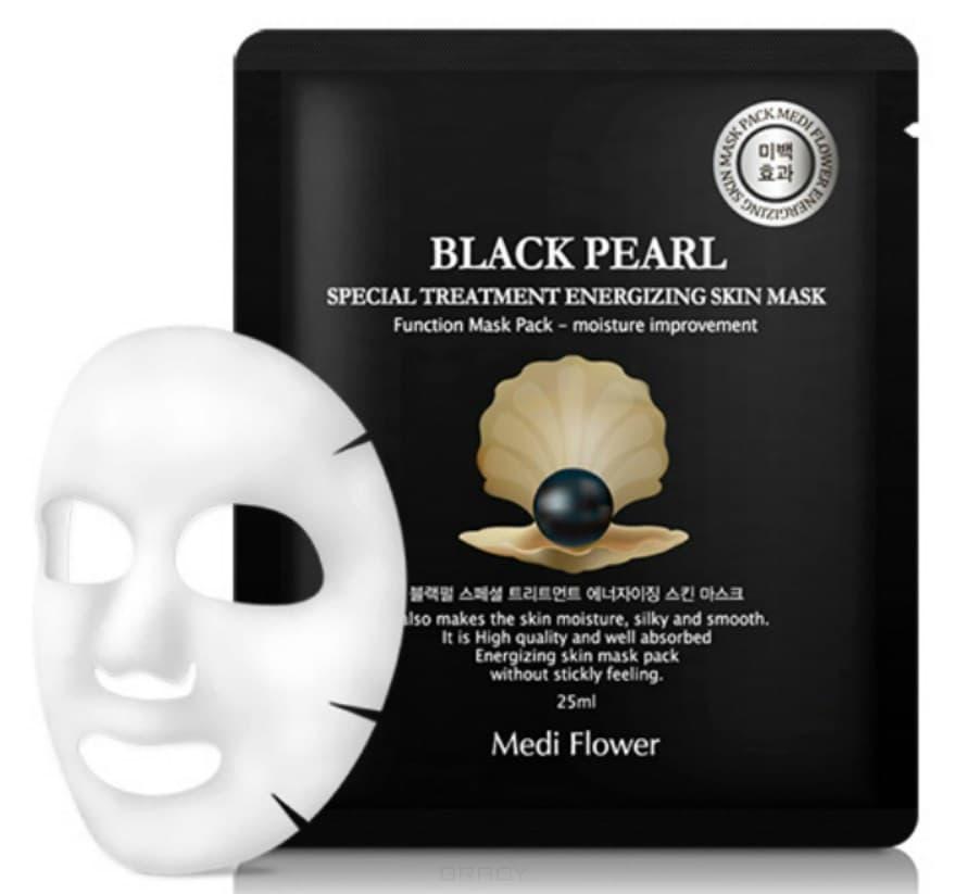 Купить Medi Flower, Интенсивно омолаживающая маска с экстрактом черного жемчуга Special Treatment Energizing Mask Pack Black Pearl, 25 мл