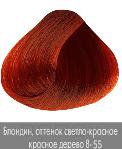 Купить Nirvel, Краска для волос ArtX профессиональная (палитра 129 цветов), 60 мл 8-55 Интенсивно-красное дерево блондин