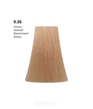 Купить BB One, Перманентная крем-краска Picasso Colour Range без аммиака (76 оттенков) 9.36Light Blond Gold Violet/Светло -Золотой Фиолетовый Блонд