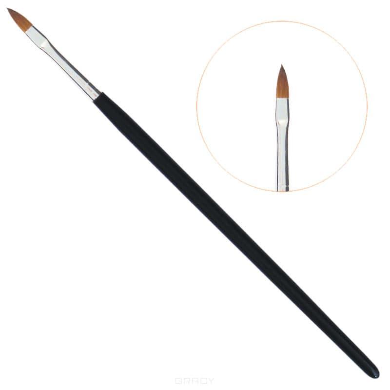 Planet Nails, Кисть акрилова зык, 1 шт, №4Нейл-арт и дизайн ногтей<br><br>