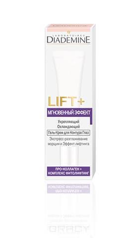 Diademine, Гель-крем дневной для контура глаз Lift + Мгновенный Эффект, 50 млСредства для кожи вокруг глаз<br><br>