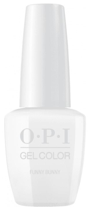 OPI, Гель-лак GelColor, 15 мл (95 цветов) Funny Bunny невидимка для волос funny bunny розовые цветы 2 шт