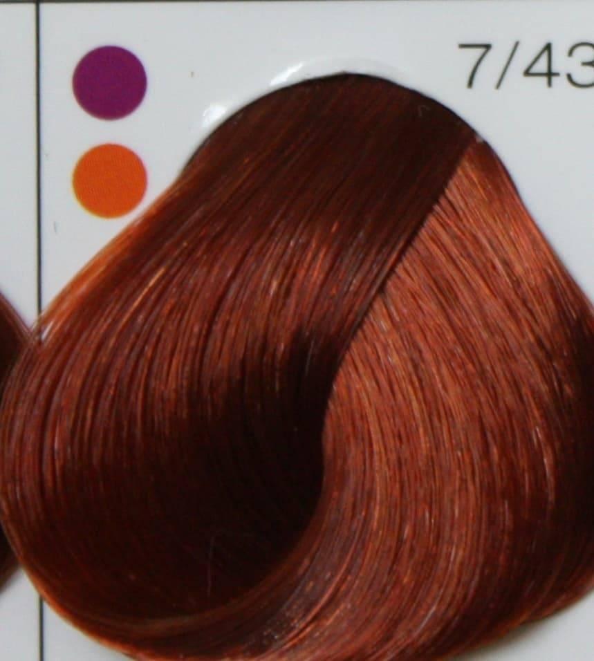 Londa, Интенсивное тонирование Лонда краска тоник для волос (палитра 48 цветов), 60 мл LONDACOLOR интенсивное тонирование 7/43 блонд медно-золотистый, 60 мл londa cтойкая крем краска new 124 оттенка 60 мл 7 4 блонд медный 60 мл
